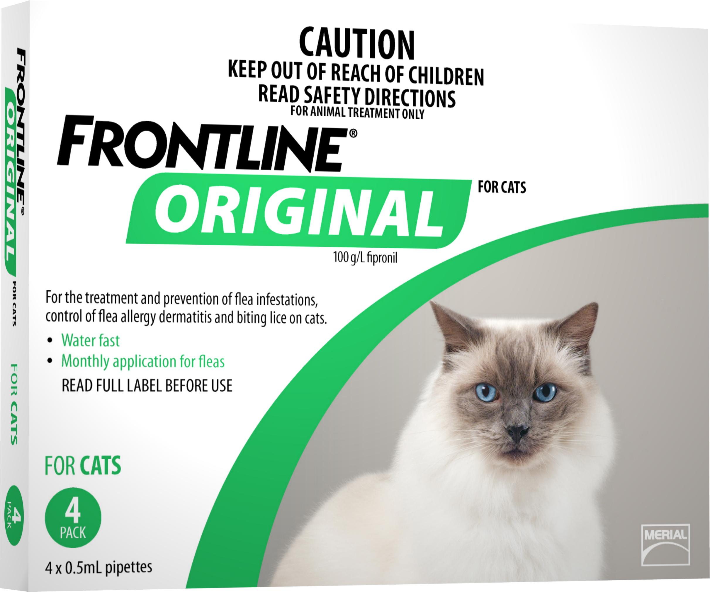 Frontline cat